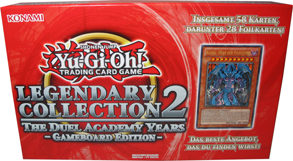 Yu-Gi-Oh! Legendary Collection 2 Gameboard Edition deutsch