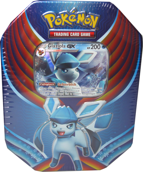 Pokemon Glaziola GX Tin Box deutsch