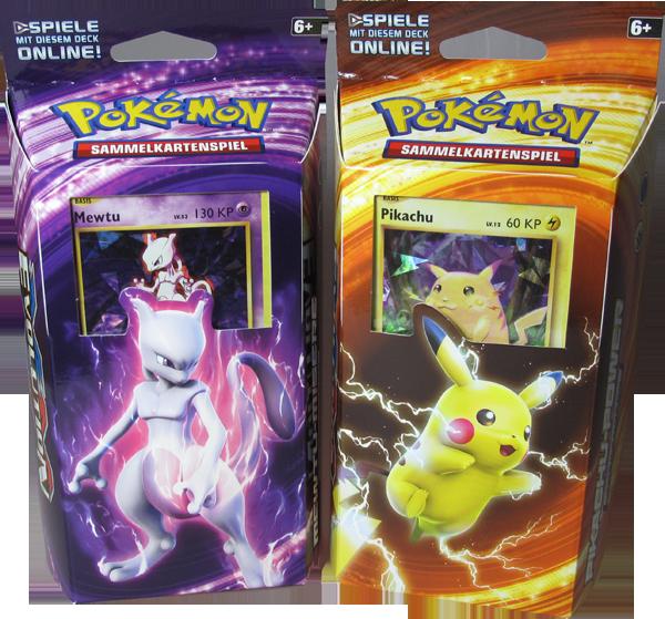 Pokemon XY Evolution Themendeck Set