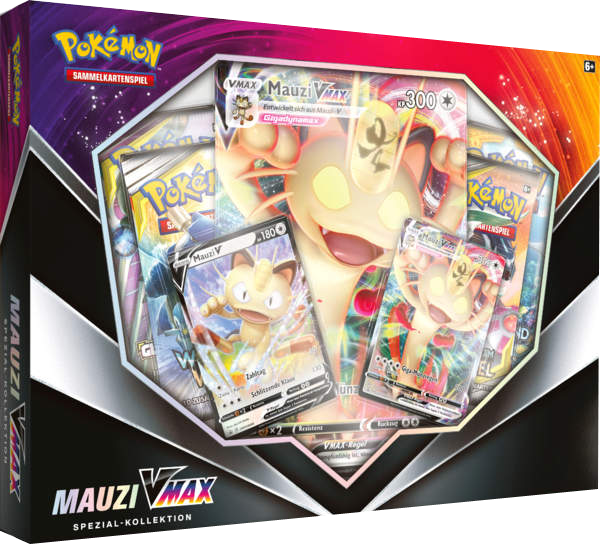 Pokemon Mauzi VMAX Special Kollektion