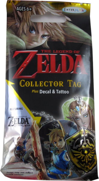 The Legend of Zelda Collector Tag Booster englisch