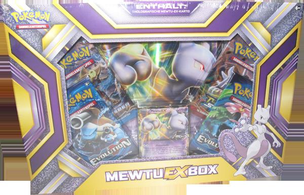 Pokemon Mewtu EX Box