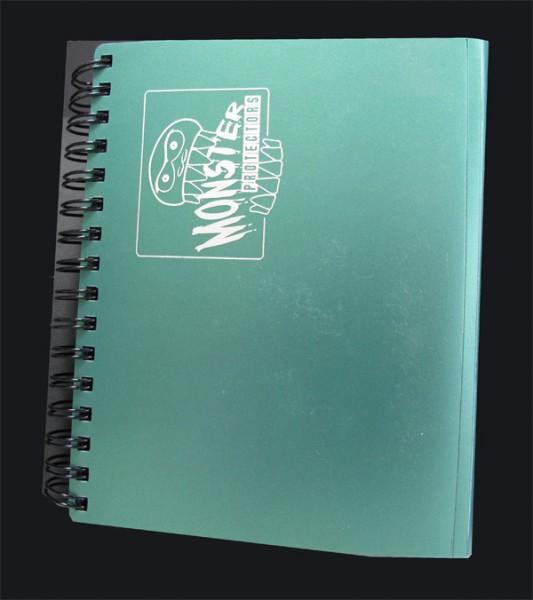 Monster Protection Ringordner 2 Pocket green