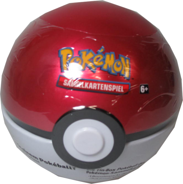 Pokemon Poke Ball Tin rot/weiß