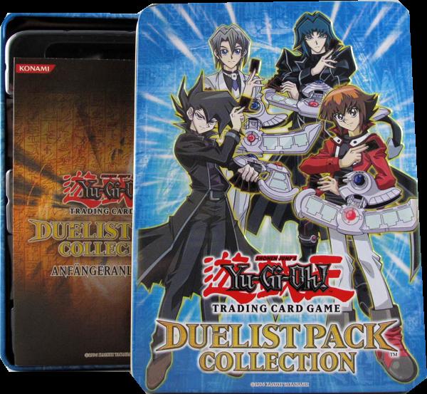 Yu-Gi-Oh! Tin Box Duelist Pack Collection - hellblau - Ohne Inhalt