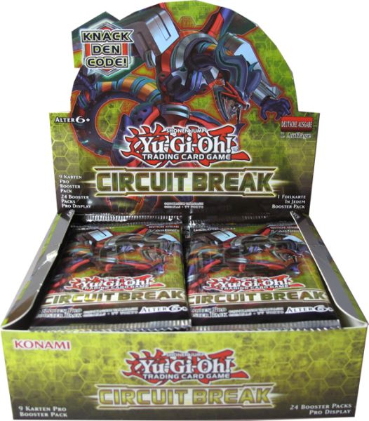 Yu-Gi-Oh! Circuit Break Booster Display