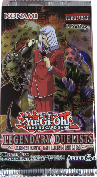 Yu-Gi-Oh! Legendary Duelists Ancient Millennium deutsch