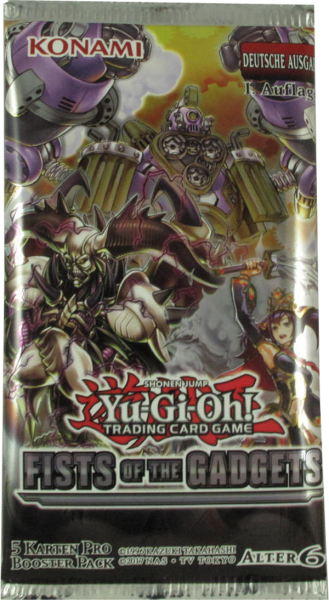 Yu-Gi-Oh! Fists of the Gadgets Booster deutsch