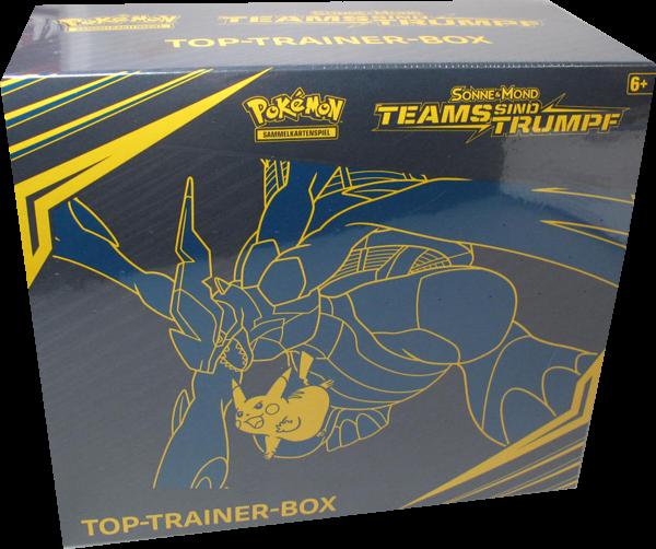 Pokemon Sonne & Mond Teams sind Trumpf Top-Trainer-Box - OOP