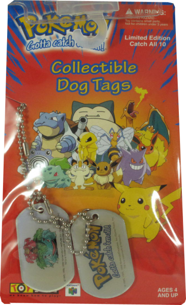 Pokemon Dog Tag Bisaflor