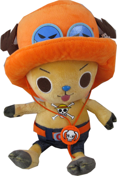 Plüschfigur One Piece Chopper Ace Verkleidung 20cm