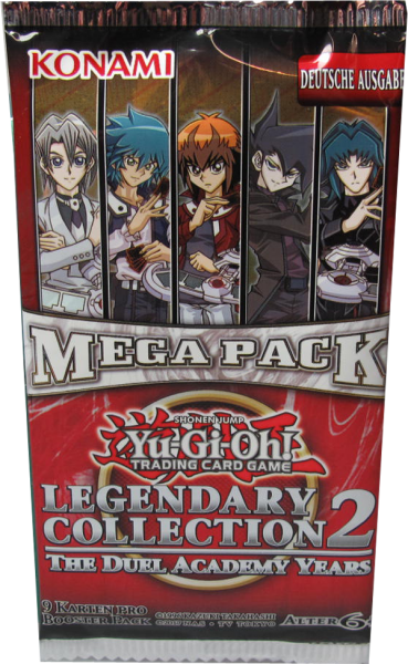 Yu-Gi-Oh! Legendary Collection 2 Booster deutsch