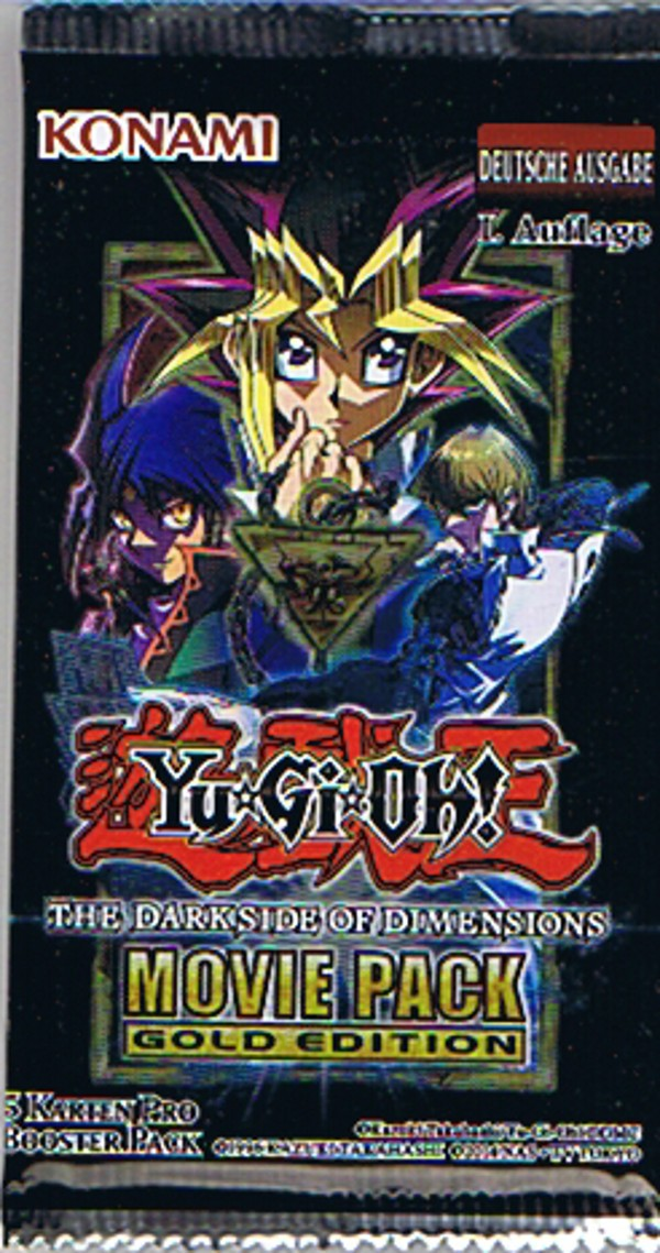 Yu Gi Oh The Dark Side Of Dimensions Movie Pack Gold Edition