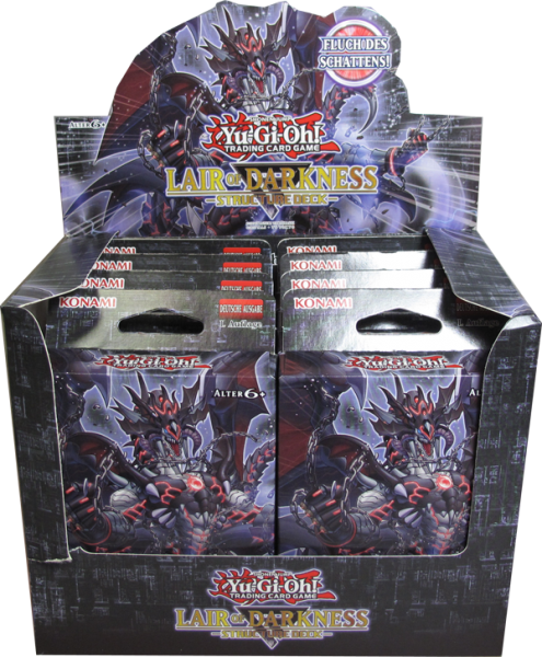 Yu-Gi-Oh! Lair of Darkness Structure Deck Display