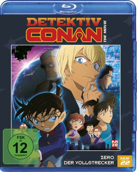 Detektiv Conan der Film 22: Zero der Vollstrecker Blu-ray