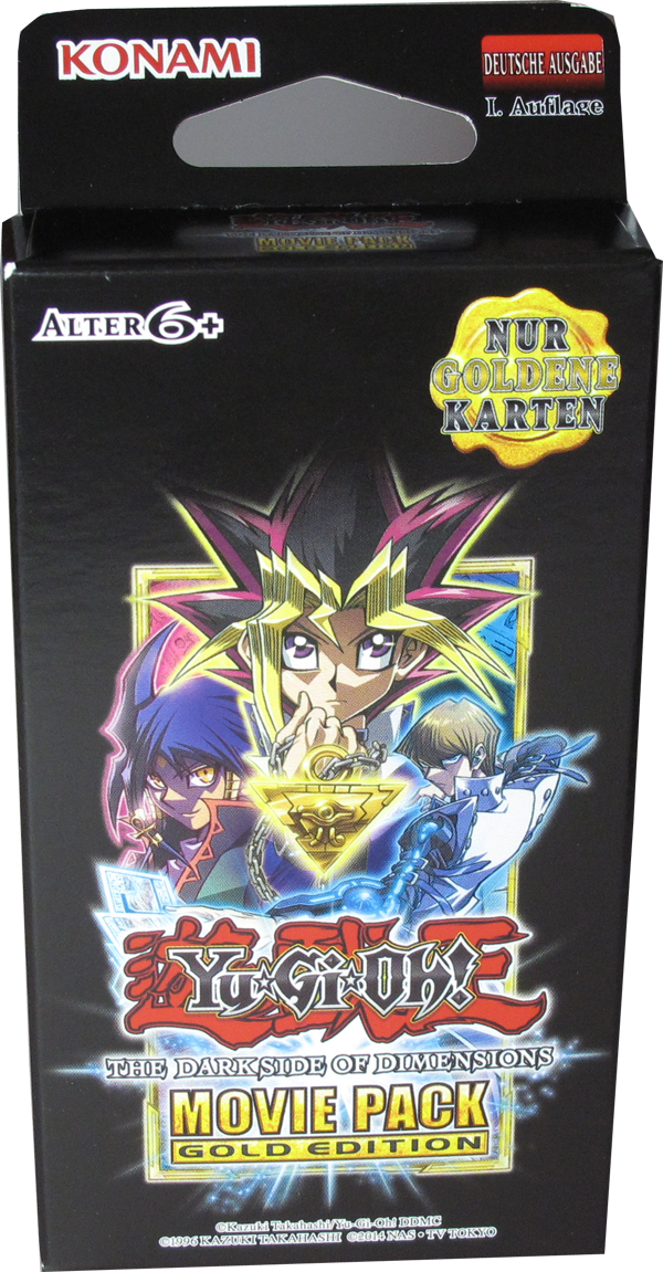 Yu Gi Oh The Dark Side Of Dimensions Movie Pack Gold Edition Spec