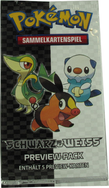 Pokemon Schwarz & Weiss Preview-Pack