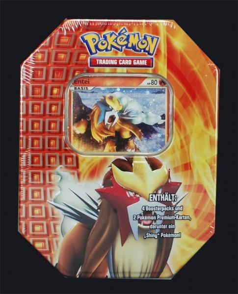 Pokemon Entei Tin Box deutsch