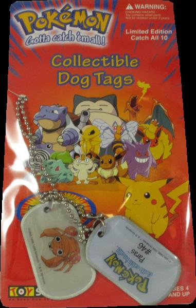 Pokemon Dog Tag Paras #46