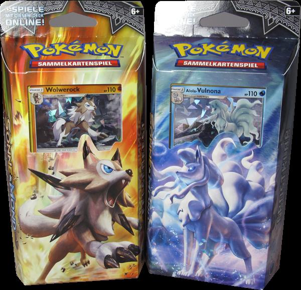 Pokemon Sonne & Mond Nacht in Flammen Themendeck Set