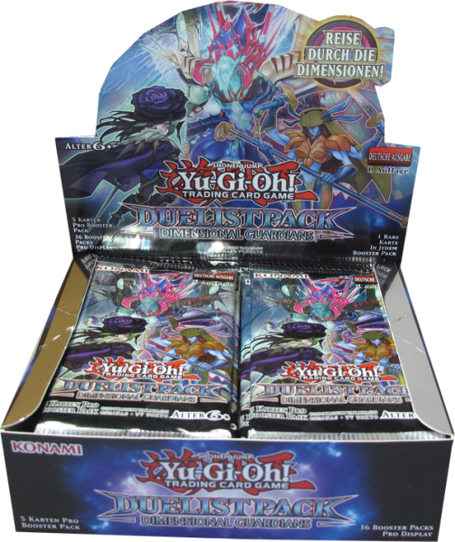 Yu-Gi-Oh! Duelist Pack: Dimensional Guardians Booster Display deutsch