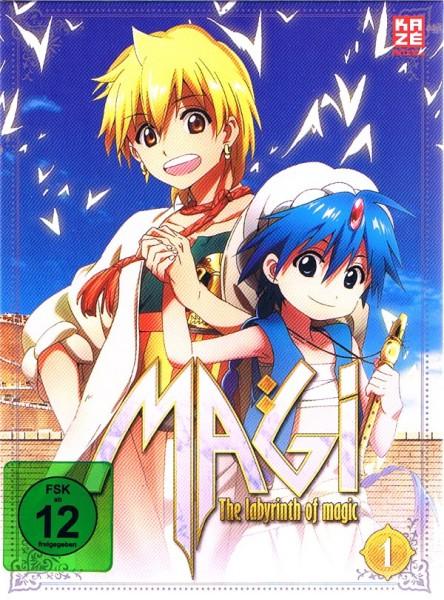 Magi - The Labyrinth of Magic Vol. 01 Box