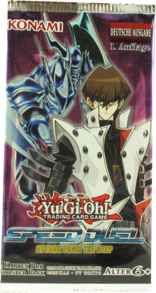 Yu-Gi-Oh! Speed Duel Attack from the Deep Booster deutsch
