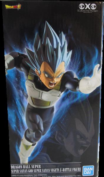 Action Figur Dragonball Super - Super Saiyan God Vegeta Z - Battle Figure