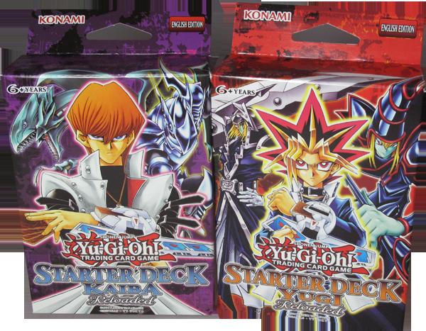 Yu-Gi-Oh! Starter Deck Set Kaiba Reloaded & Yugi Reloaded englisch
