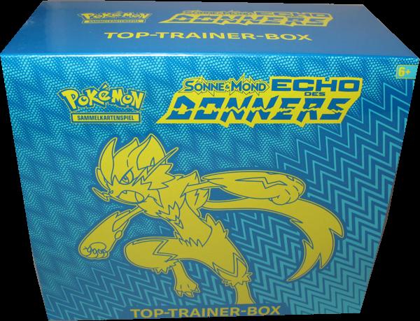Pokemon Sonne & Mond Echo des Donners Top-Trainer-Box