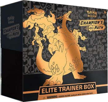 Pokemon Champion's Path Top-Trainer-Box englisch