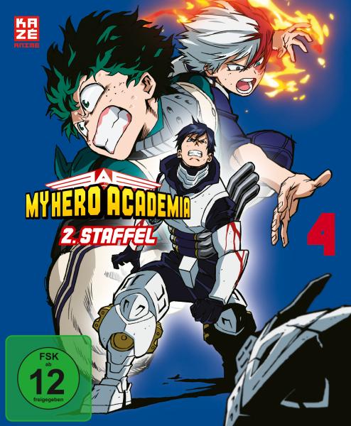 My Hero Academia 2.Staffel Vol. 04 Blu-ray