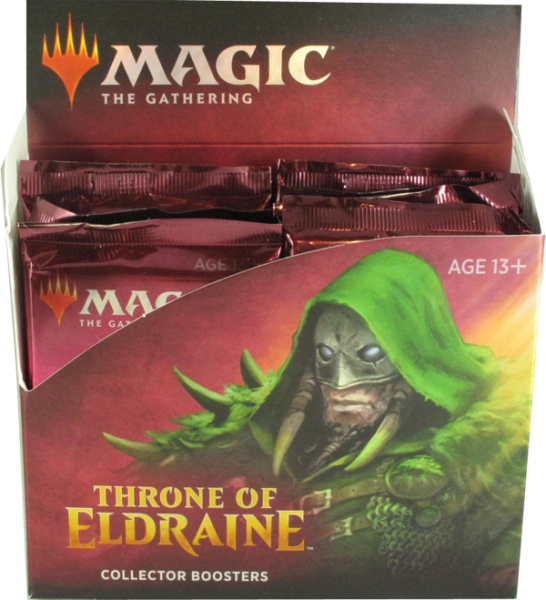 Magic Throne of Eldraine Collector Booster Display englisch