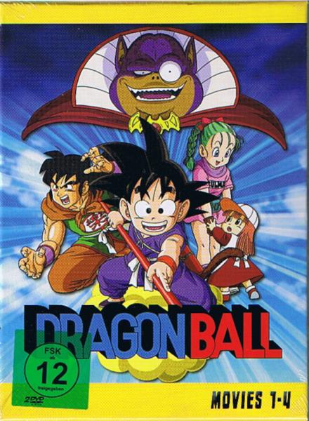 Dragonball - Movies - Gesamtausgabe - DVD (2DVD)