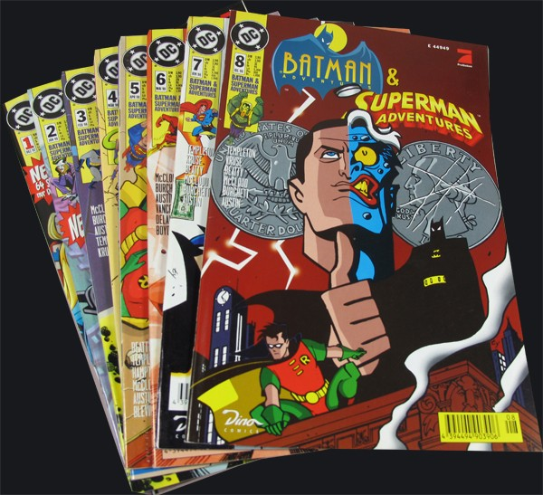 Batman & Superman Adventures #1-8