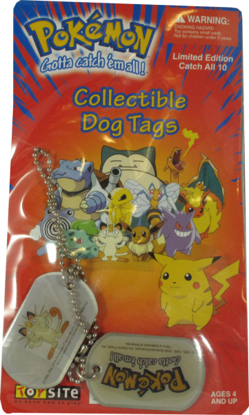 Pokemon Dog Tag Mauzi