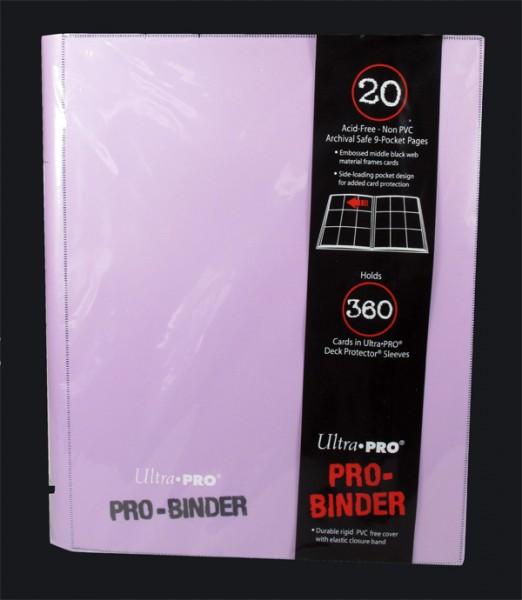 Ultra Pro 9-Pocket Portfolio Binder Eclipse - Hot Pink