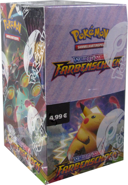 Pokemon Farbenschock 18er Booster Display deutsch
