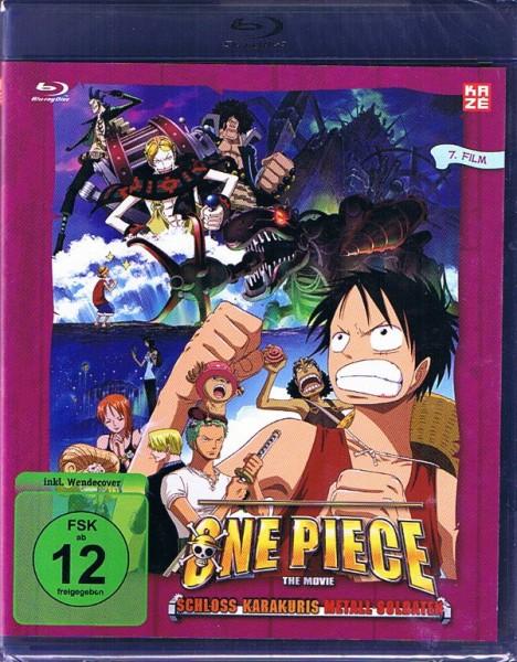 One Piece The Movie 07: Schloss Karakuris Metall Soldaten Blu-ray