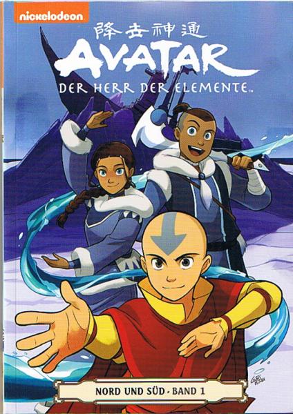 Avatar - Der Herr der Elemente - Nord und Süd 01