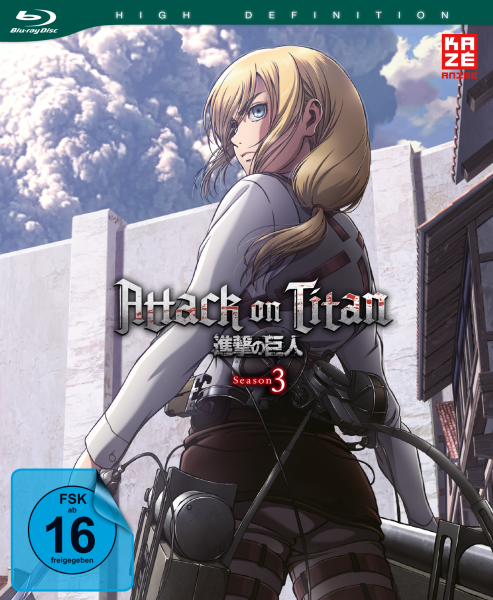 Attack on Titan 3. Staffel Vol. 02 Blu-ray