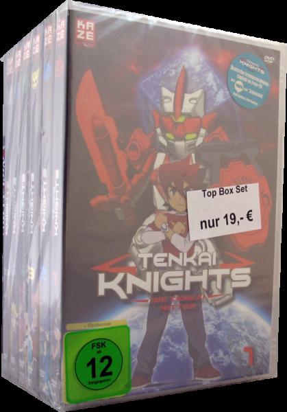 Tenkai Knights Set 1 - 6 DVD