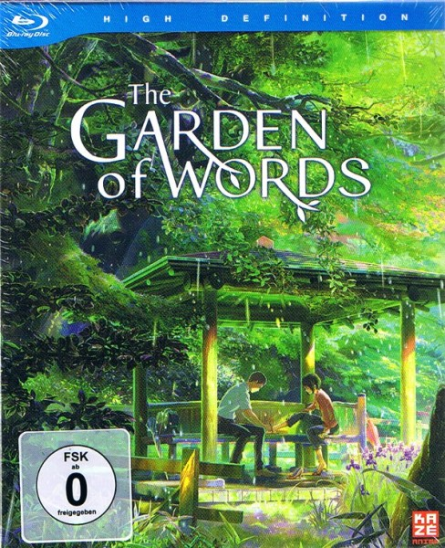 The Garden of Words Deluxe Edition Blu-ray