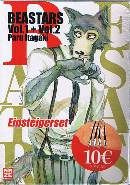 Beastars Vol.1 + Vol.2 Einsteigerset
