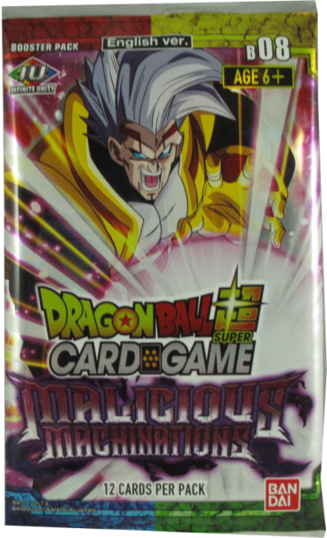 Dragonball Super Malicious Machinations Booster englisch