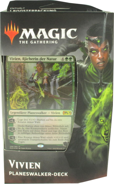 Magic Hauptset 2020 Vivien Planeswalker Deck