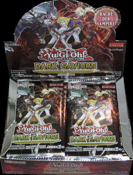 Yu-Gi-Oh! Dark Saviors Booster Display