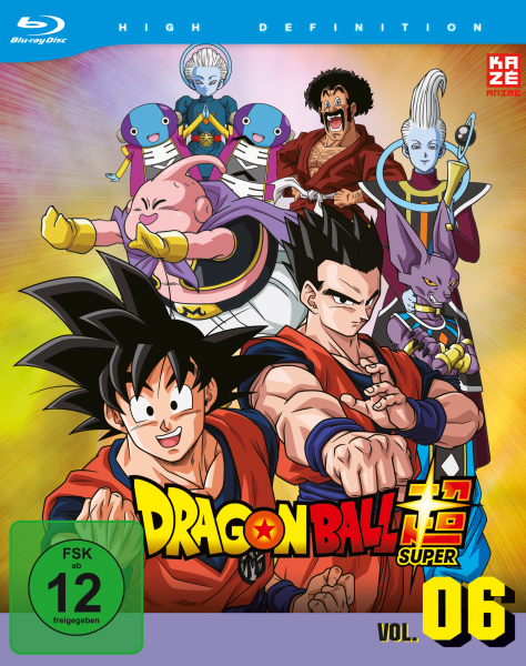 Dragonball Super Vol. 06 Blu-ray