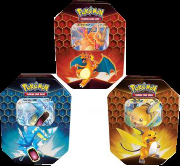 Pokemon Herbst 2019 3er Set Tin Box deutsch