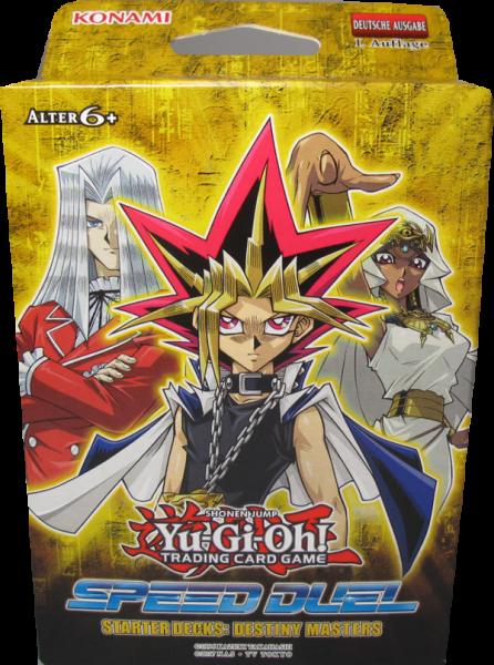 Yu-Gi-Oh! Speed Duel Starter Deck Destiny Mastes deutsch